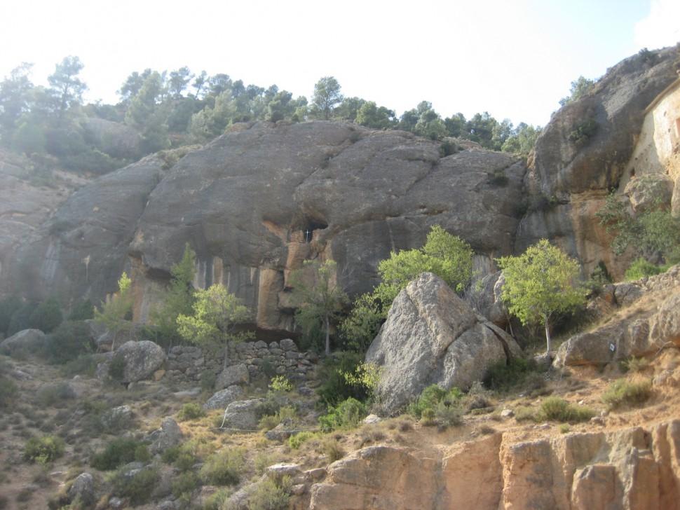 Santuario de Balma. Visitar Santuario de la Balma