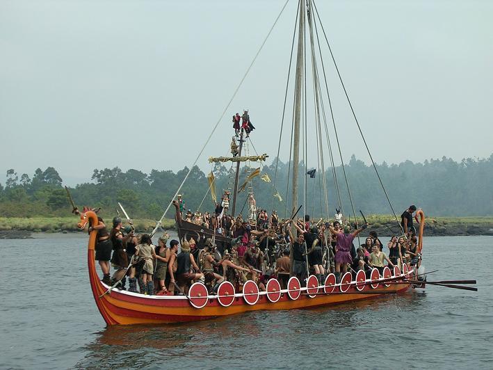 Romería Vikinga de Catoira - Turismo por las Rias Baixas