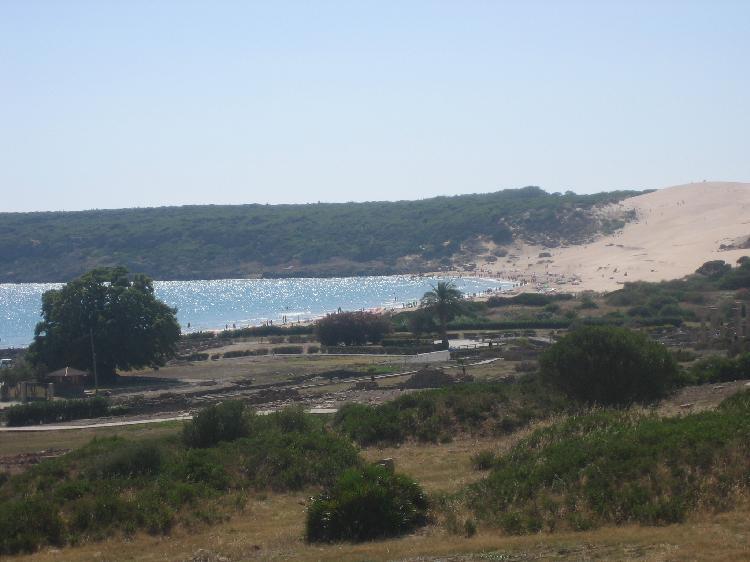 Playa de Bolonia. Visitar Tarifa