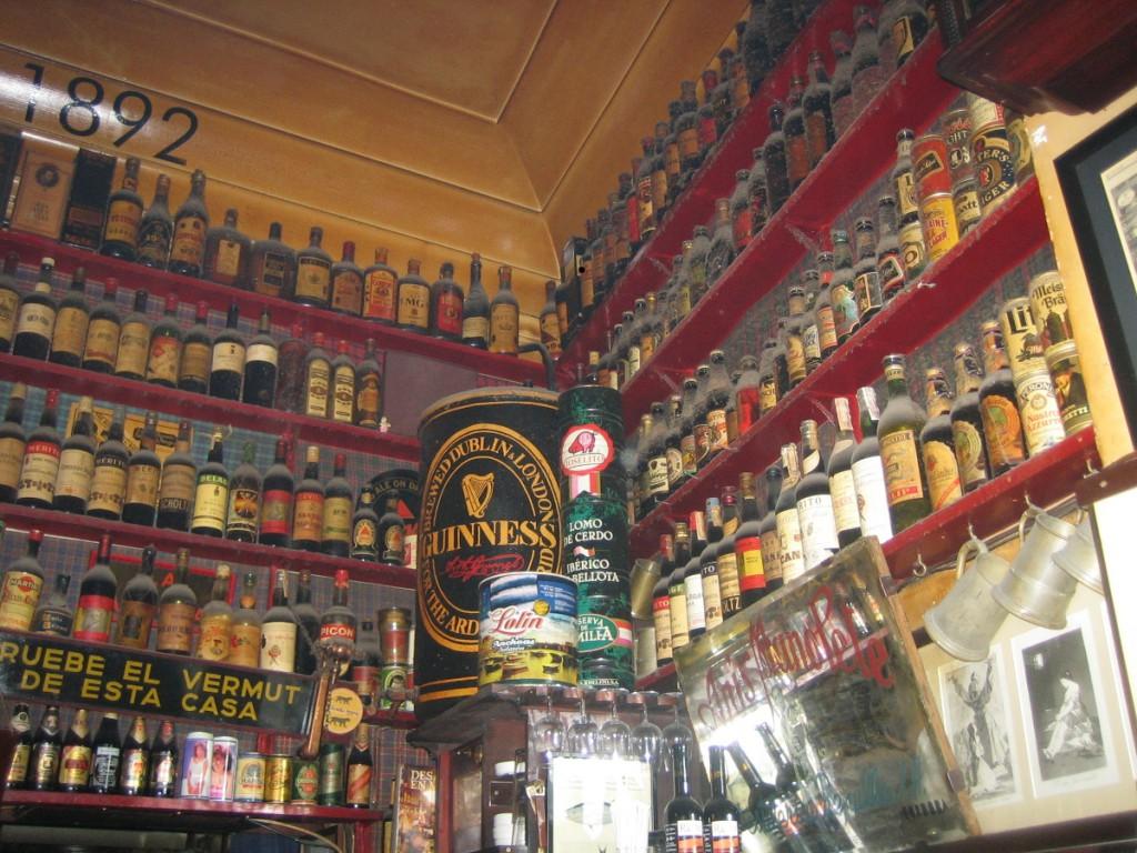 Taberna La Ardosa. Visitar Madrid