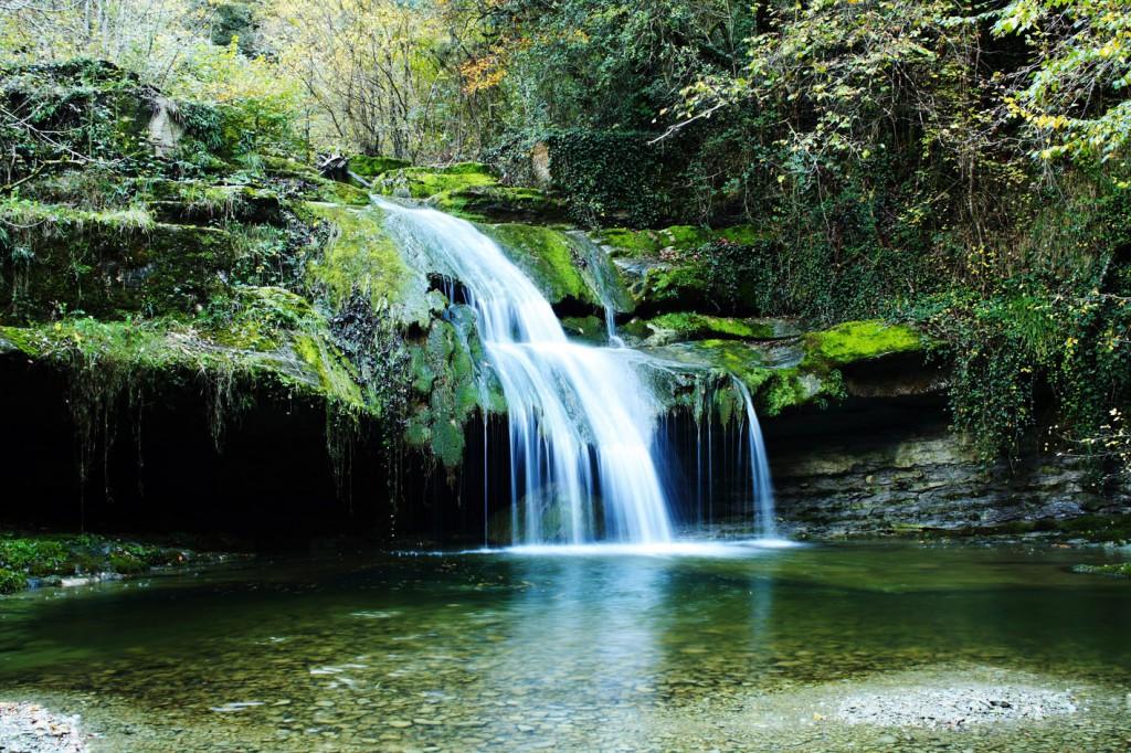Cascada de Irus. Visitar Visitar cascadas en Burgos