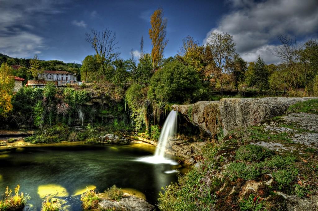 Cascada de Pedrosa de Tobalina. Visitar cascadas en Burgos
