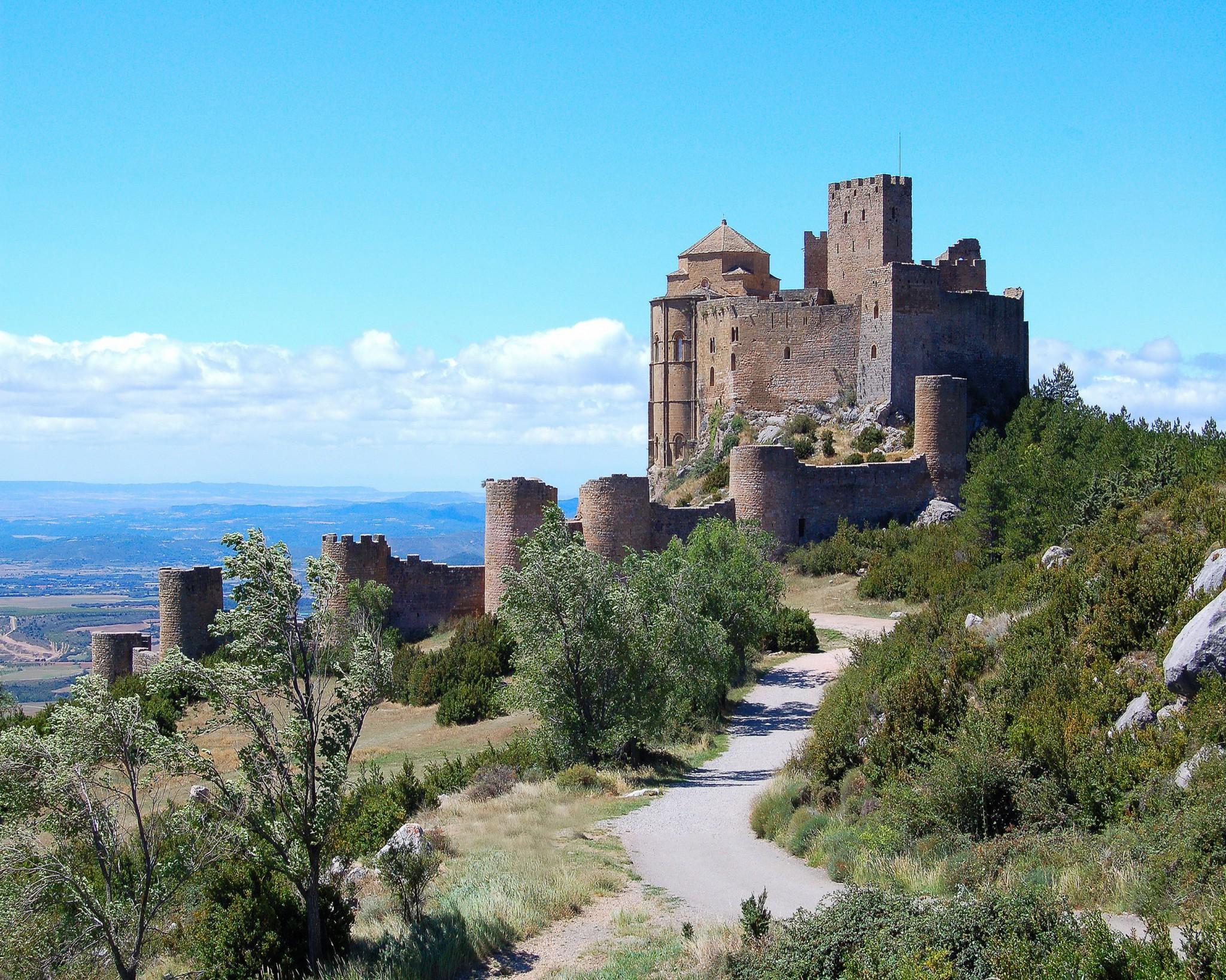 Castillo de Loarre el reino de los cielos