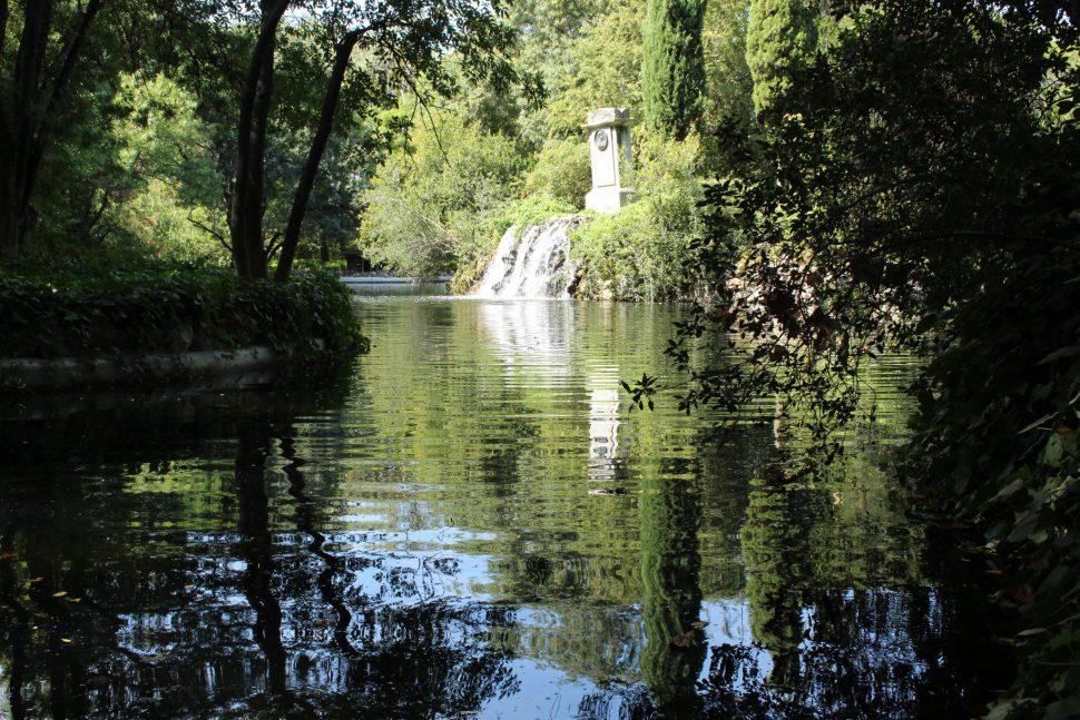 Estanque - Parque el Capricho fotos