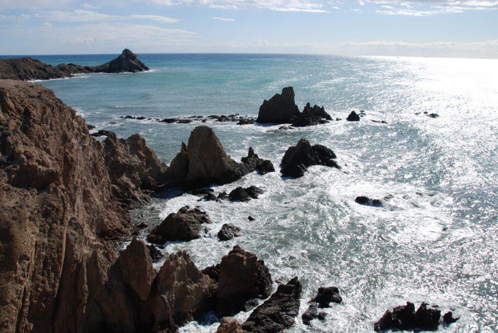 El Arrecife de las Sirenas. Visitar Almería