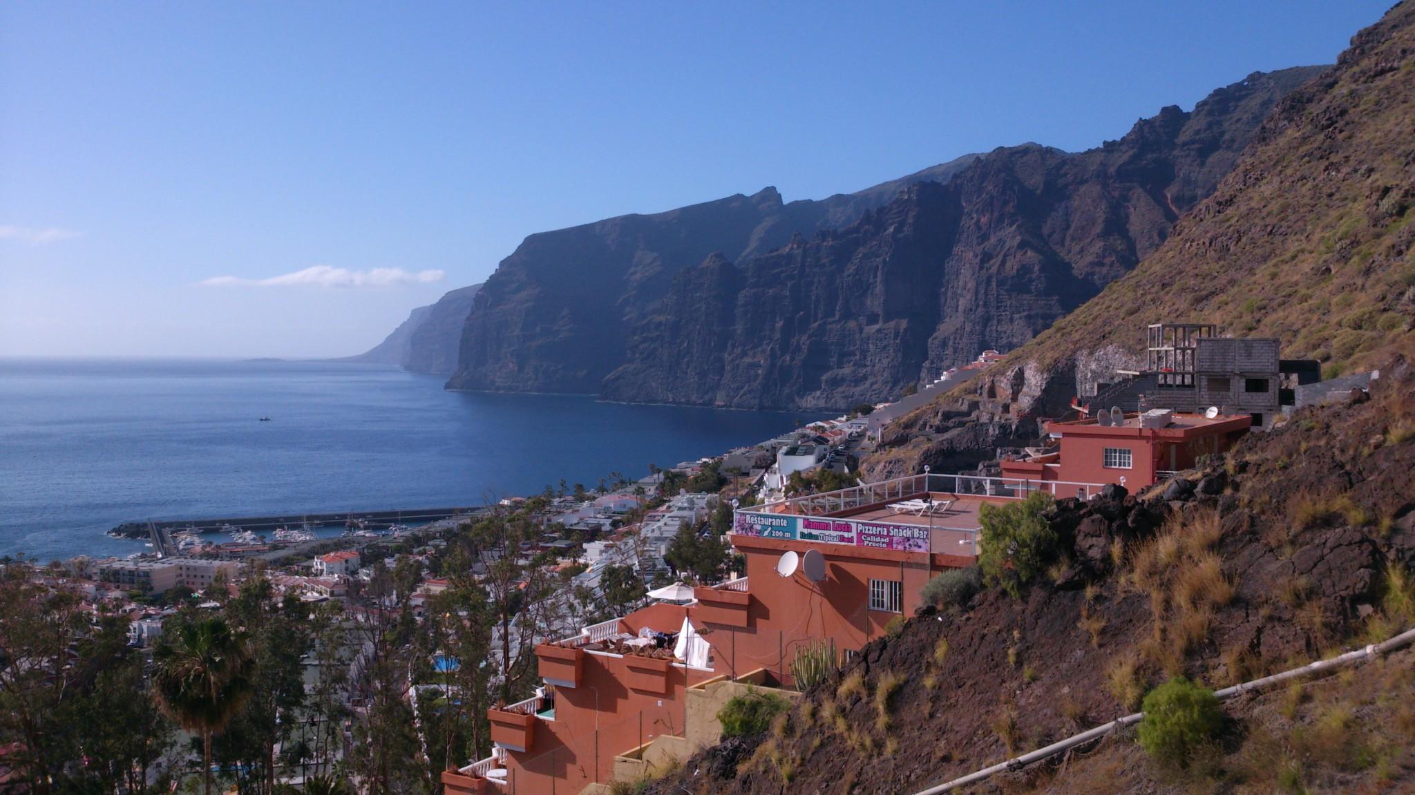 Playa los Gigantes Tenerife