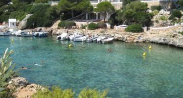 Cala Blanes en Ciudadella, Menorca