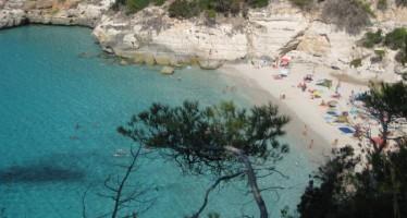 Cala Mitjana, cala virgen en Menorca