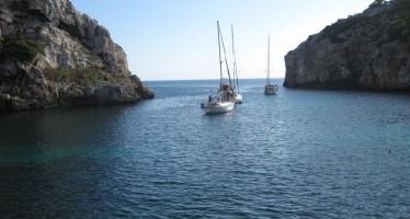 Cala Coves idílico rincón en Menorca