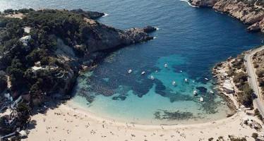 Cala Vadella, enclave pintoresco en Ibiza