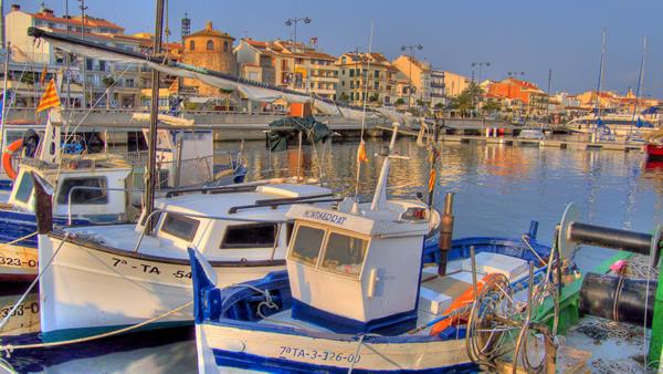 Puerto de Cambrils- Salou
