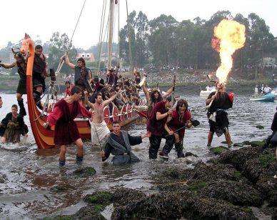 Romería Vikinga Catoira