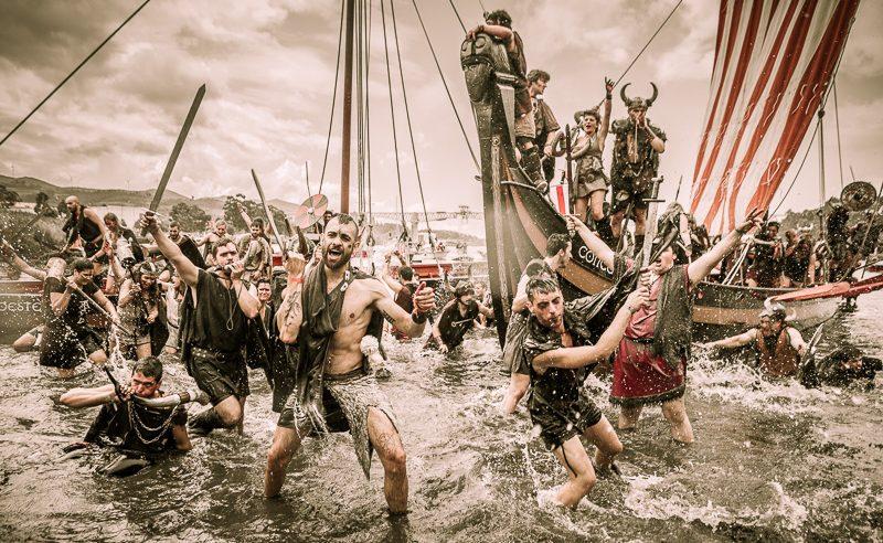 Romería Vikinga de Catoria. Rías Baixas