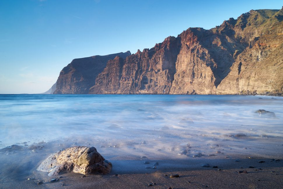 Acantilado de los Gigantes - Tenerife playas
