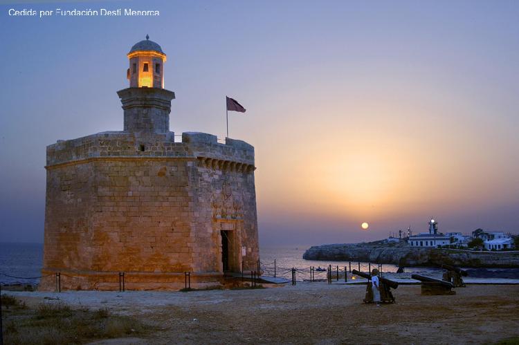 Castell de Sant Nicolau. Turismo Menorca