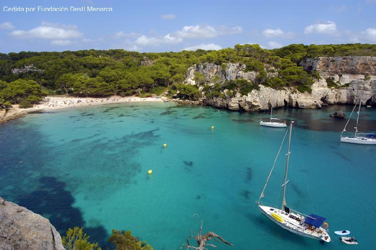 Cala Macarella. Turismo Menorca