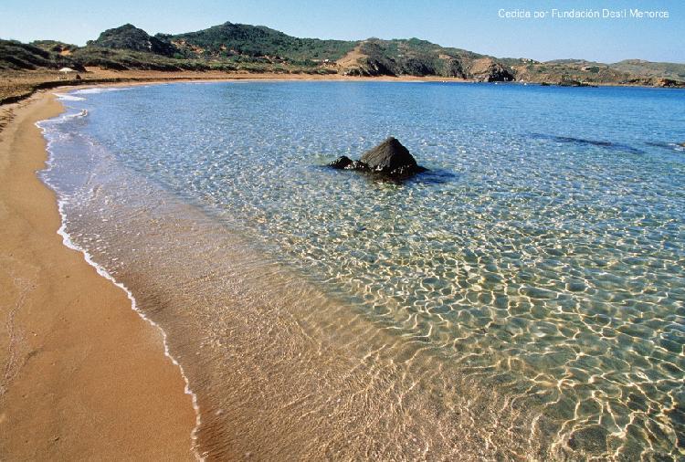 Playa Binimel. Turismo Menorca