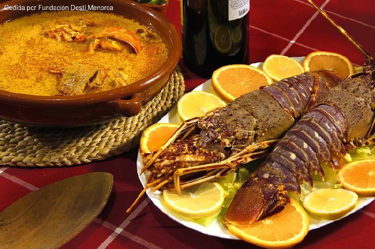 Comida típica. Turismo Menorca