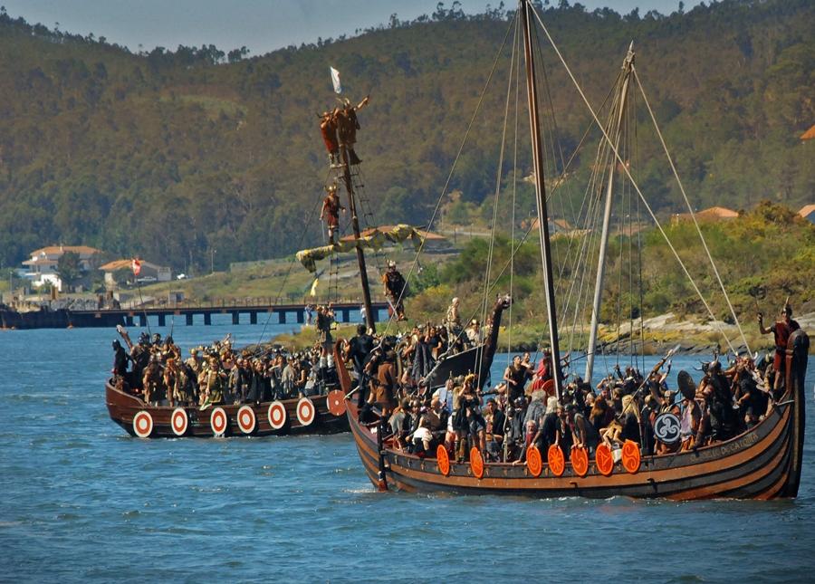 Romería Vikinga de Catoira 2016