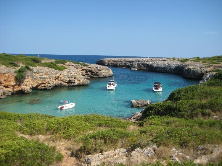 Cala Petita en Mallorca