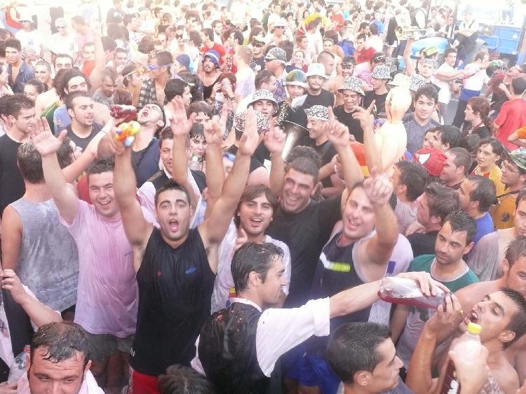 Fiesta de la Vendimia. Cedida por Turismo Jumilla