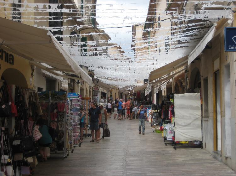 Calle Major en Alcudia