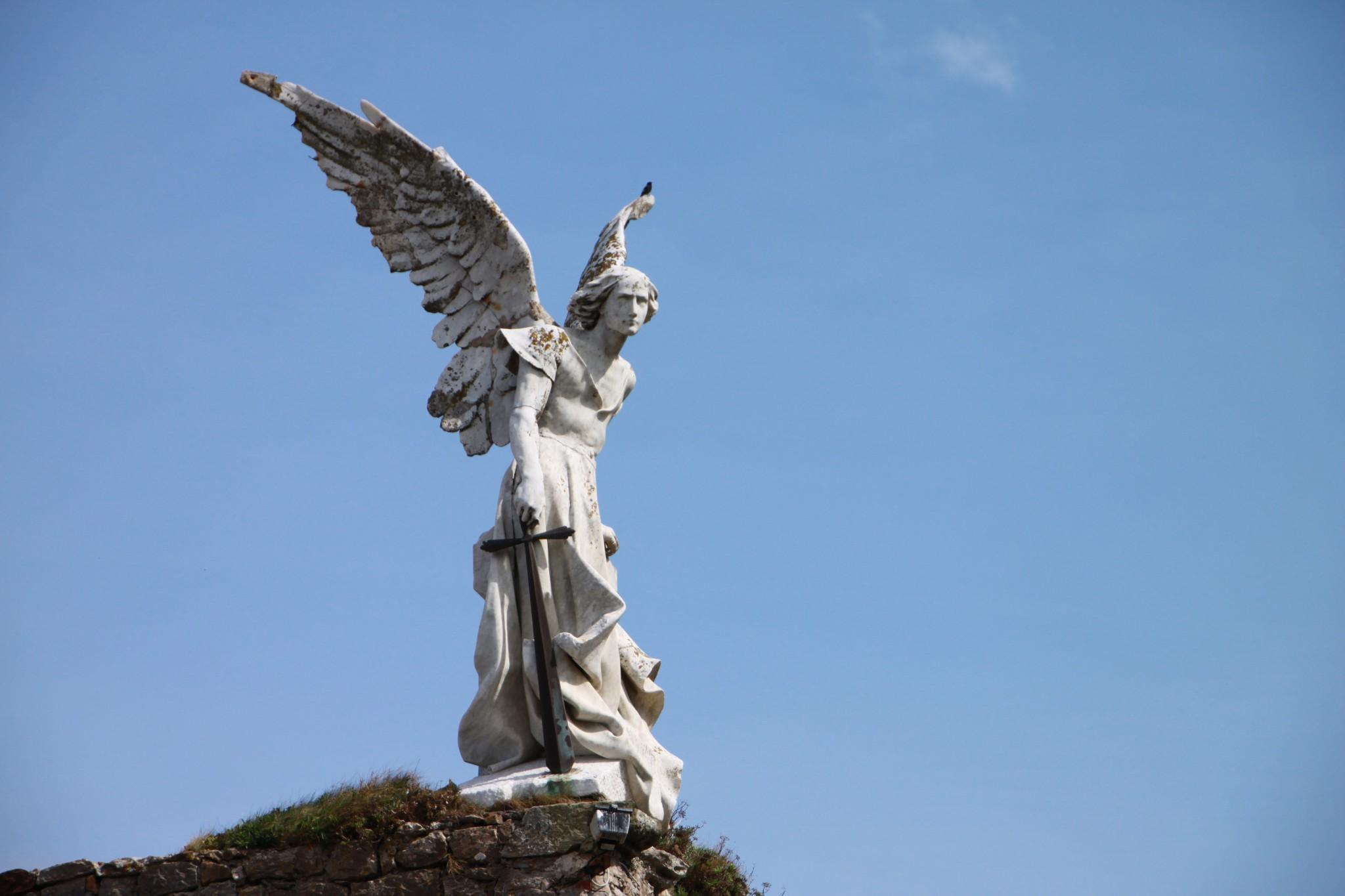 Ángel de Llimona en Comillas