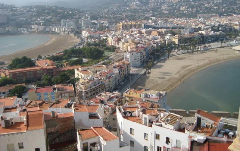 Vistas playas Castillo de Peñícola