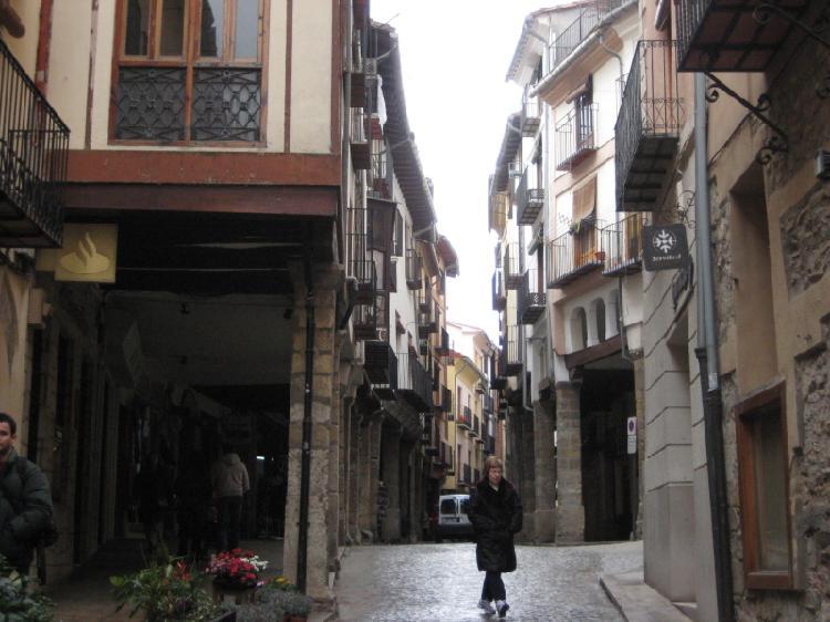 Soportales de Morella. Turismo Castellón