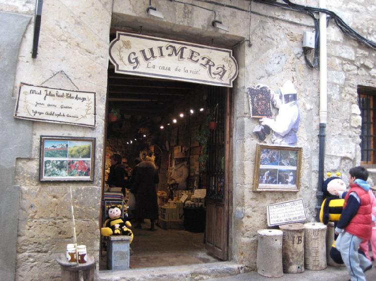 Tienda típica de Morella. Turismo Castellón