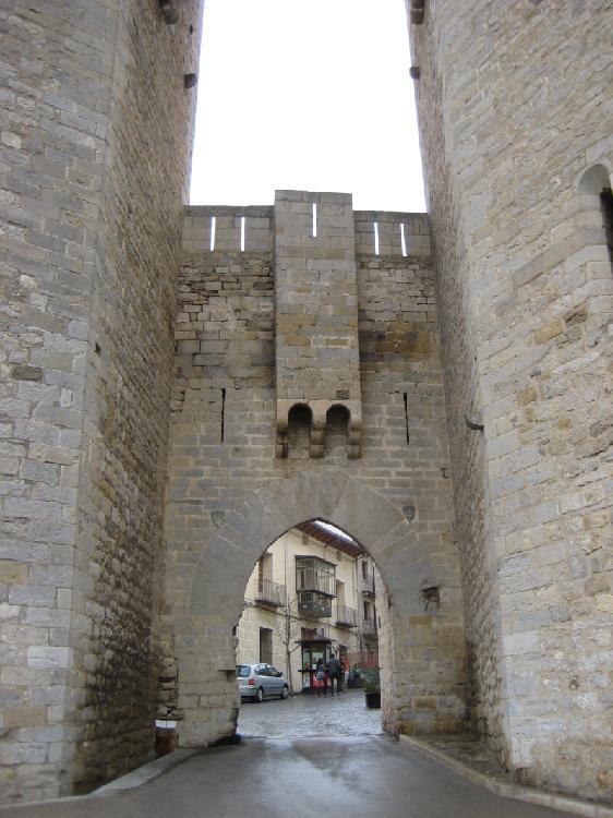 Puerta de acceso Morella. Turismo Castellón