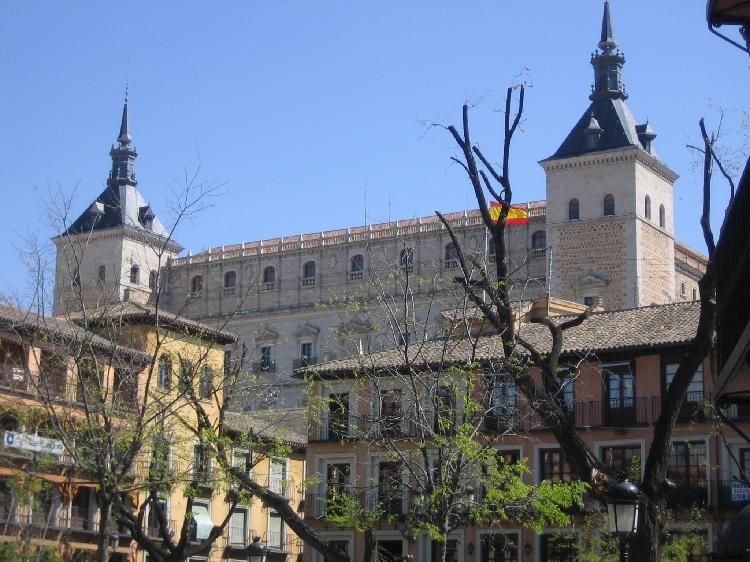 El Alcázar de Toledo. Turismo Toledo