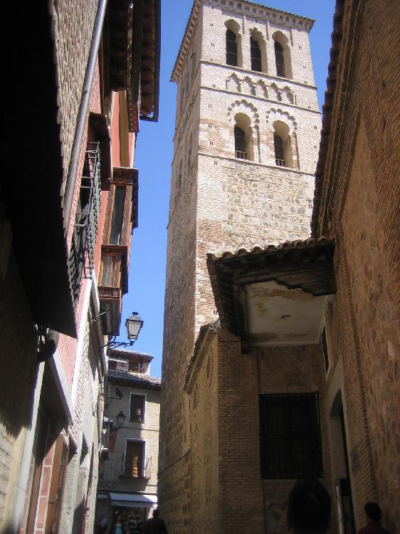 Iglesia de Santo Tomé . Turismo Toledo