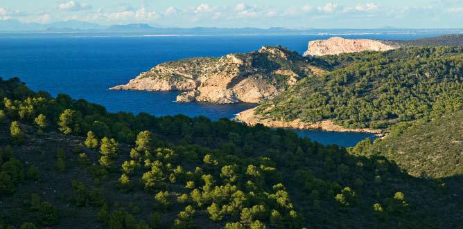 Parque Nacional Marítimo de Cabrera - Baleares Turismo