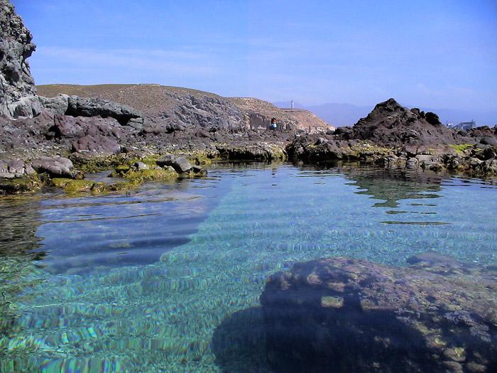 Playa de los Muertos en Agua Amarga. Turismo Almería