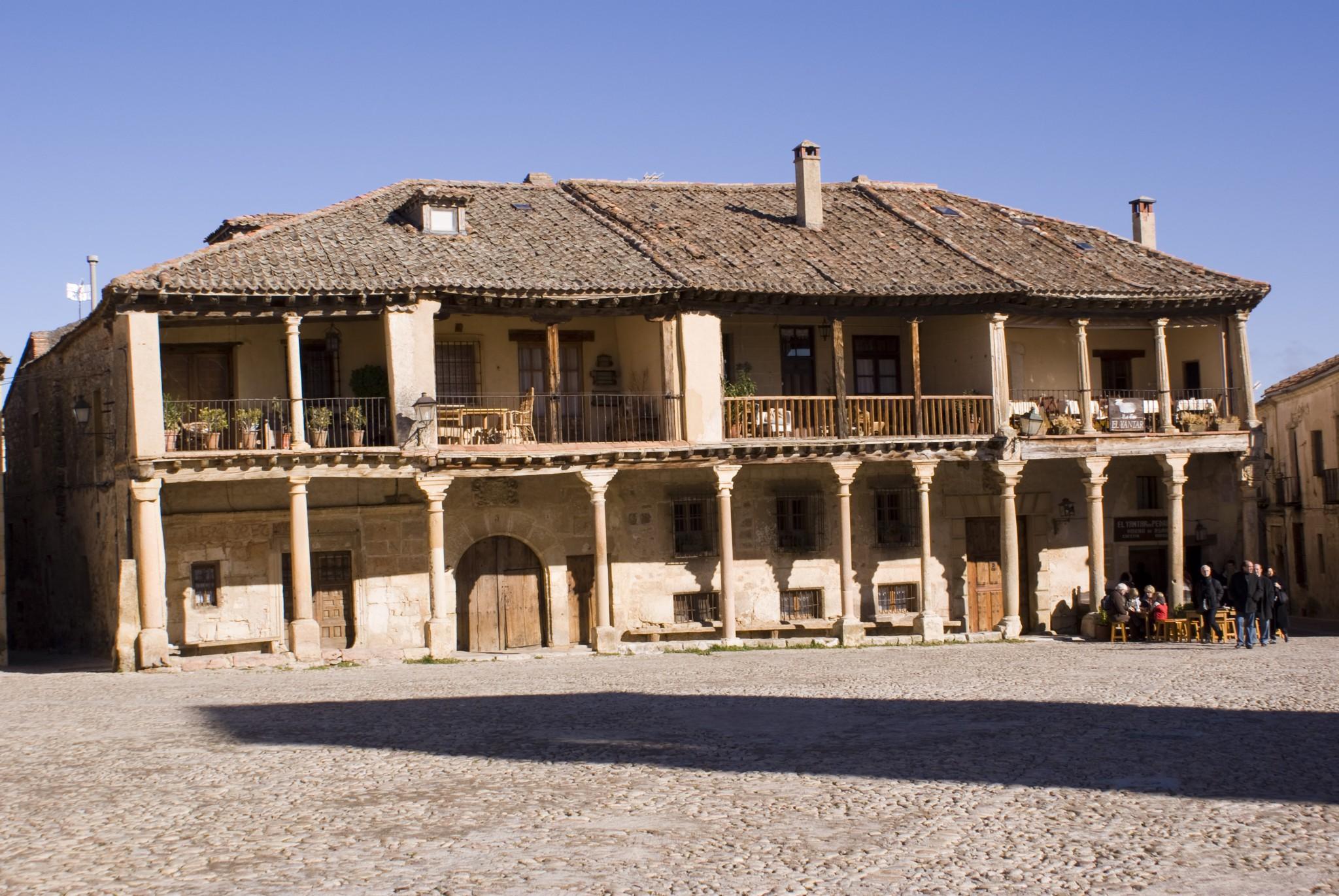 Casa de ancianos en Pedraza. Segovia
