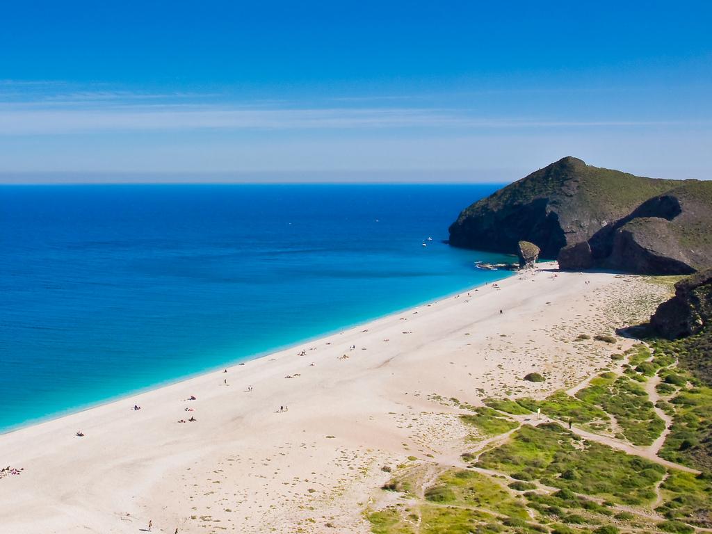 Playa de los Muertos en Carboneras. Turismo Almería