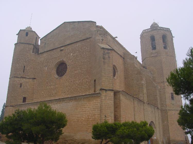 Iglesia de Santa María. Cedida por Turismo de Balaguer