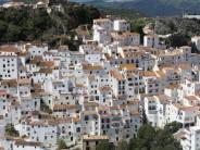 Casares pueblo colgante en Málaga