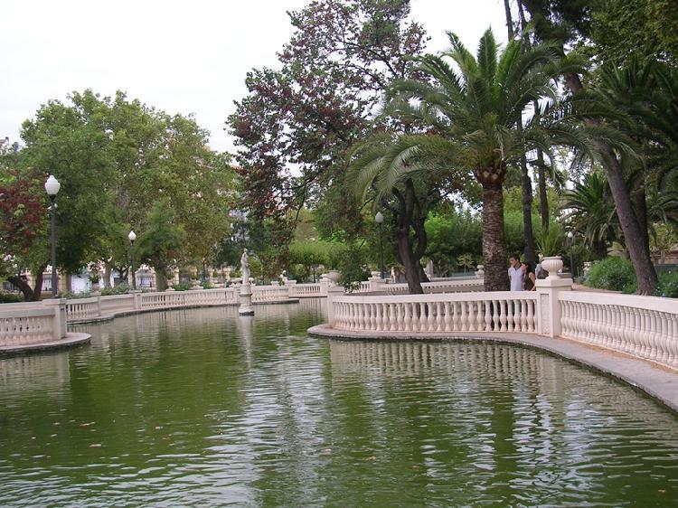 Parque Ribalta. Turismo Castellón