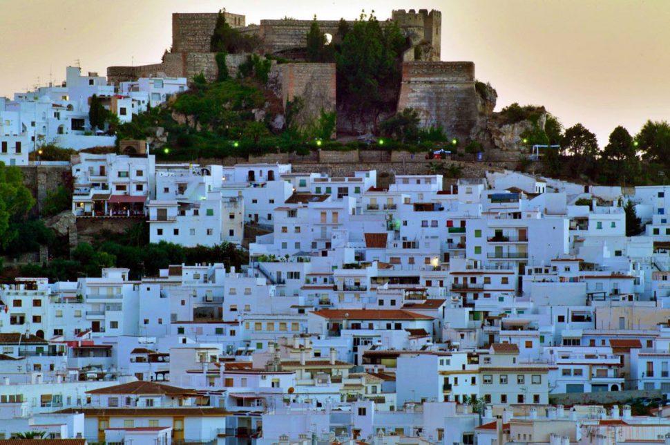 Vista panorámica de Salobreña. Turismo Granada