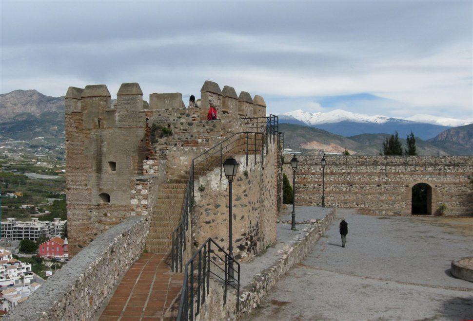 Castillo en Salobreña. Granada