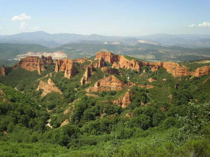 Las Médulas de el Bierzo. Turismo León