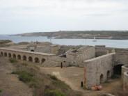Fortaleza de La Mola o Fortaleza de Isabel II en el Puerto de Mahón