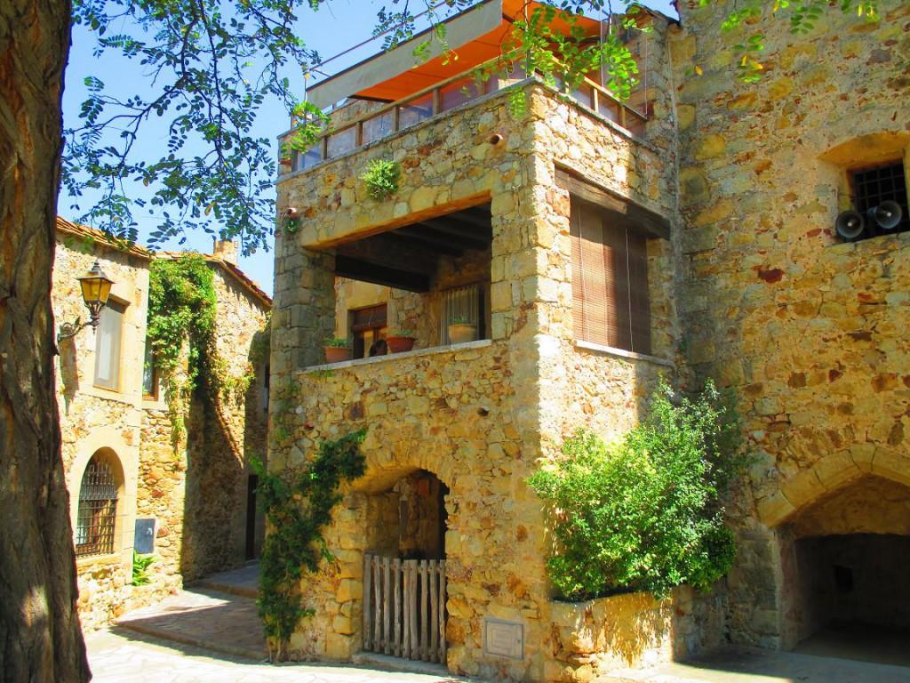 Pals. Pueblos medievales Girona