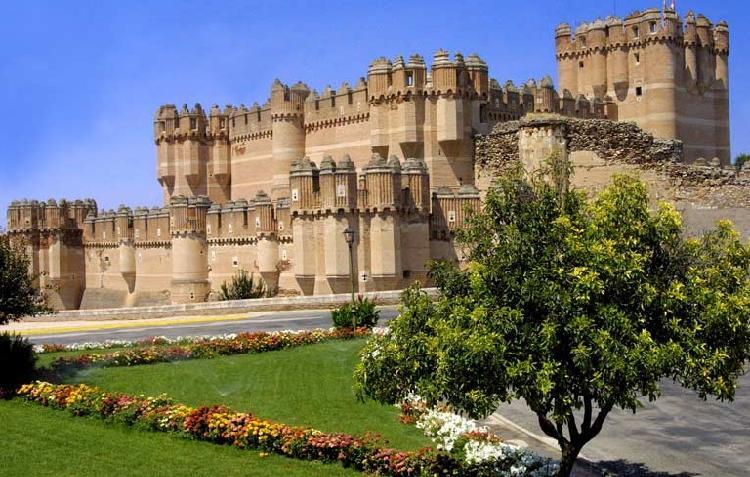 Castillo de Coca - Ruta de los Castillos de Segovia