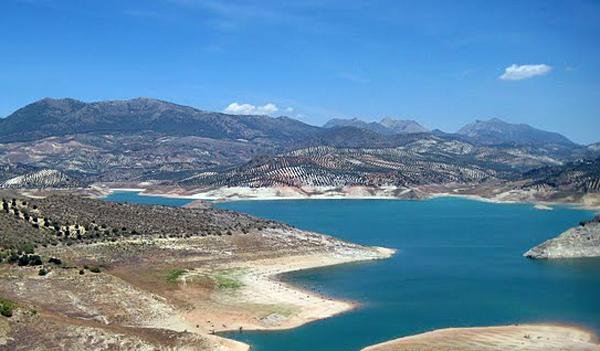 Embalse de Iznajar - Lago de Andalucia