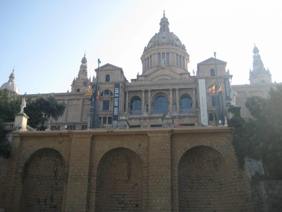 Museo de Arte Nacional de Cataluña. Turismo Barcelona