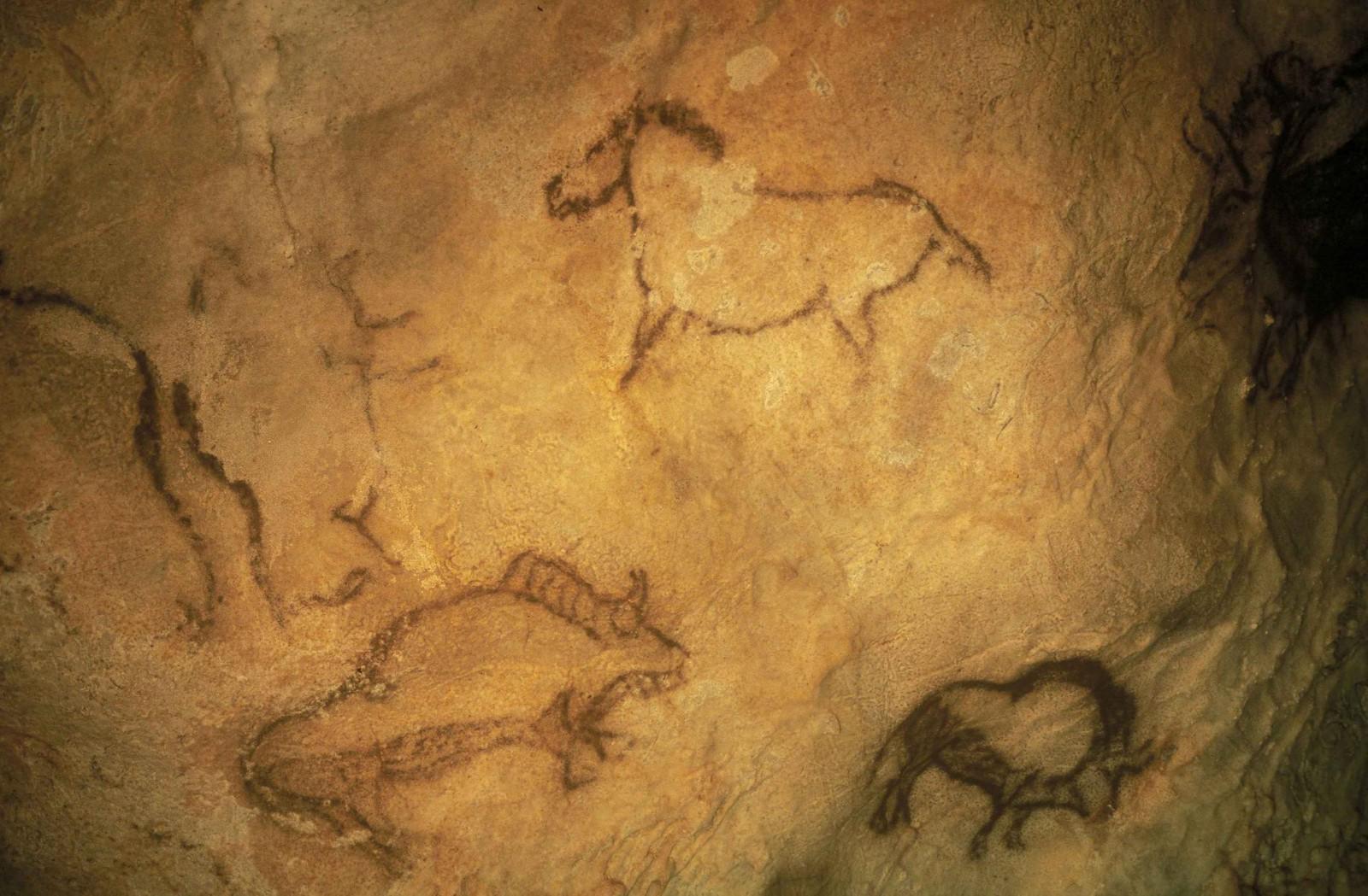 Cuevas de Santimamiñe. Archivo propiedad de Urremendi