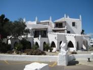 Binibeca, pueblo pesquero en Menorca
